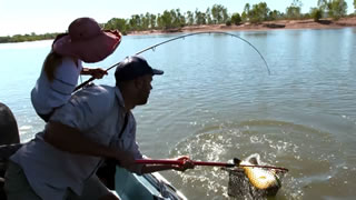Fishing for Barramundi in the Ord River